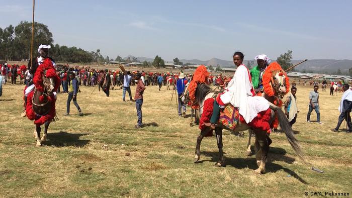 Äthiopien Injibara - Agau Horse Riding Association