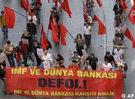 Турците протестират срещу намесата на МВФ