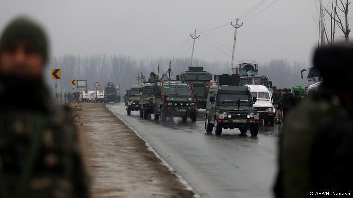 Indien Selbstmord-Angriff in Kaschmir