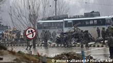 Indien Selbstmord-Attentat in Kaschmir