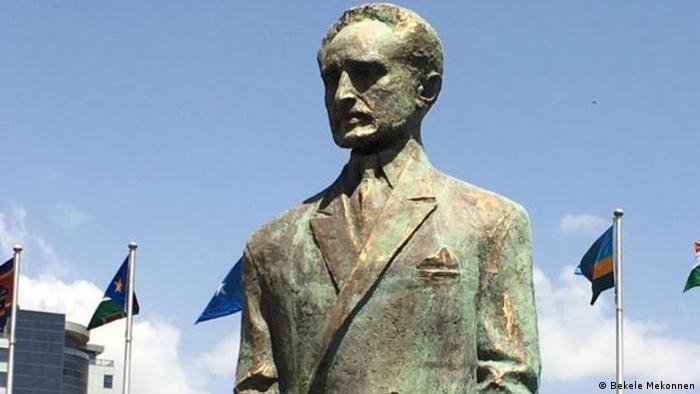 Äthiopien - Die Afrikanische Union enthüllt eine Statue von Haile Selassie.
