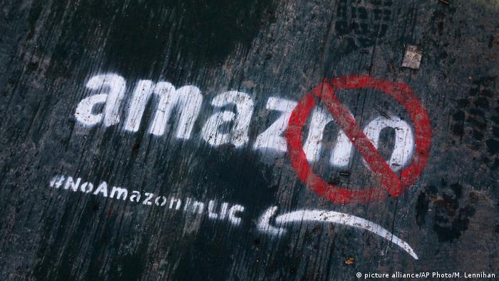 USA - Amazon streicht Pläne für New York (picture alliance/AP Photo/M. Lennihan)