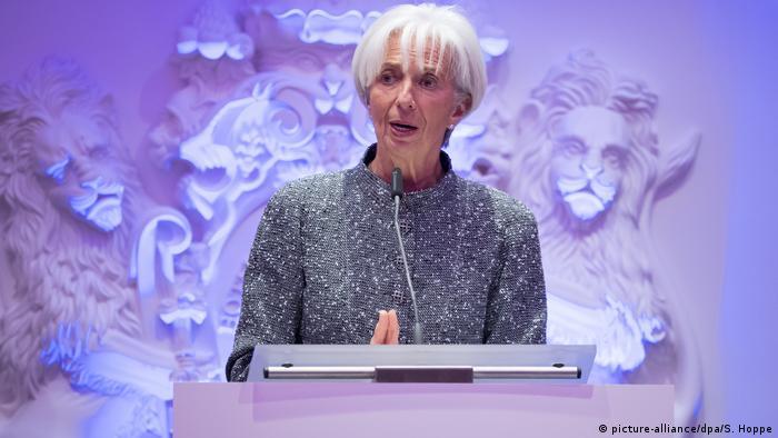 Münchner Europa-Konferenz mit Lagarde (picture-alliance/dpa/S. Hoppe)