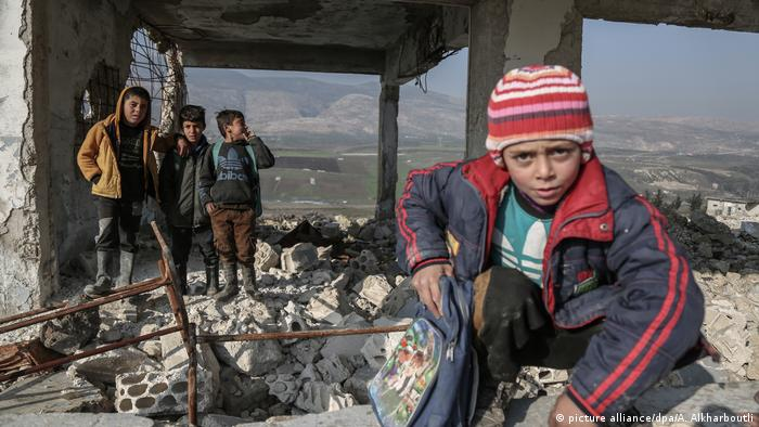 Каждый 5-й ребенок в мире живет в зоне вооруженных конфликтов