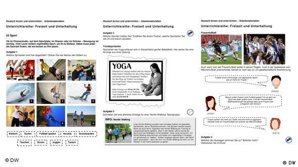 03 Sport | Unterrichtsreihen - Freizeit und Unterhaltung | DW ...