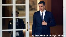 Premierminister von Luxemburg Xavier Bettel in Spanien