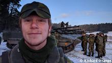 Schweden militärische Übung