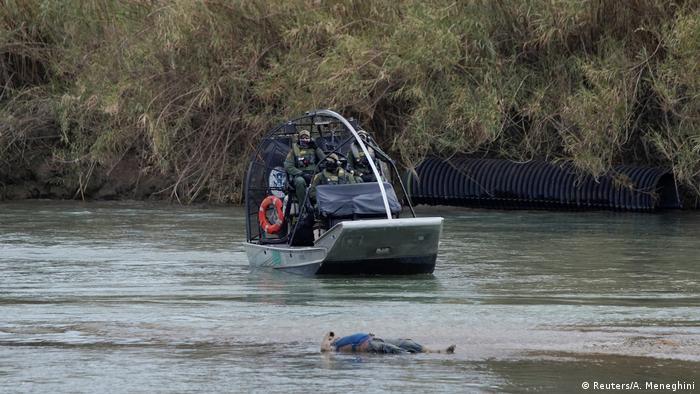 Algunas personas que no logran cruzar el río no regresan para ponerse a salvo en la rivera mexicana.
