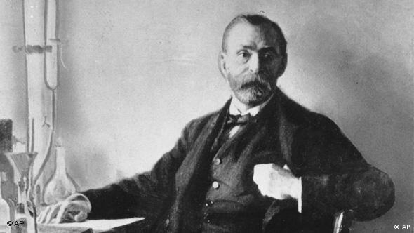 This is an undated photo of the founder of the Nobel Foundation Alfred Nobel. The Swedish industrialist is also the inventor of dynamite. (AP Photo)