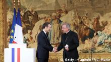 Emmanuel Macron und Luigi Ventura