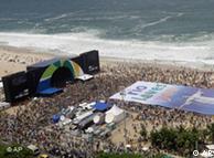 Рио-де-Жанейро во время процедуры голосования в Дании