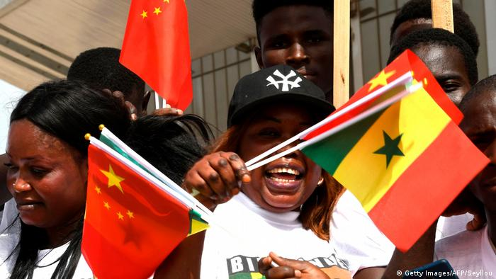 Senegal China in Afrika (Getty Images/AFP/Seyllou)