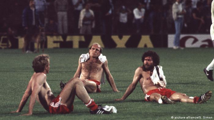 Final de la Copa de Europa FC Bayern Múnich contra el Aston Villa.
