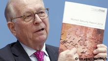 Wolfgang Ischinger Munich Security Report 2019