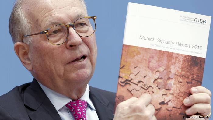 Wolfgang Ischinger Munich Security Report 2019