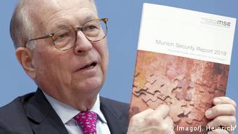 Глава Мюнхенської конференції Вольфґанґ Ішинґер не бачить причин для особливого оптимізму