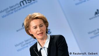 Міністерка оборони Німеччини Урсула фон дер Ляєн