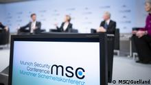 Münchner Sicherheitskonferenz Panel discussion (MSC/Guelland)