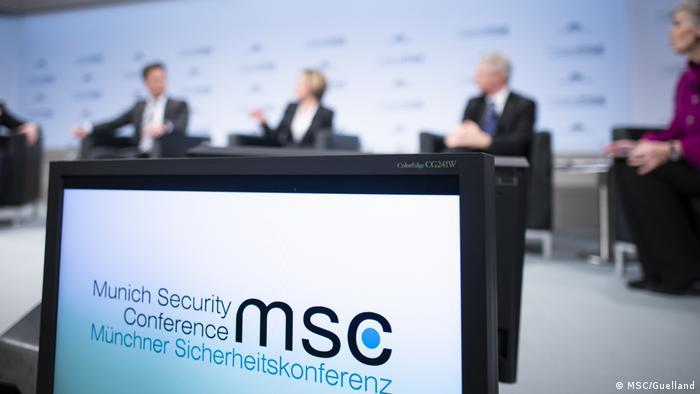 Münchner Sicherheitskonferenz Panel discussion (MSC/Guelland)
