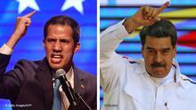 Bildkombo Venezuela Guaido Maduro