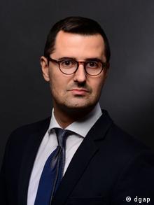 O Δρ. Γεώργιος Κολλιαράκης, σύμβουλος στρατηγικών μελετών και ειδικός σε θέματα ασφάλειας