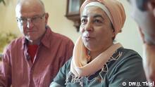 DW Still - Klaus Werner Pfaff und Samah Al-Jundi, ein deutsch-syrisches Ehepaar in Eschwege