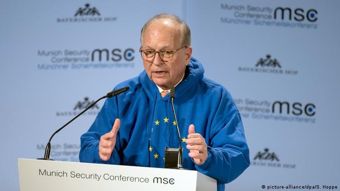 Deutschland Münchner Sicherheitskonferenz Wolfgang Ischinger