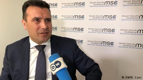 """Ζάεφ: """"Είμαι Μακεδόνας, από τη Βόρεια Μακεδονία"""""""