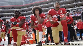 USA Football NFL Protest Eric Reid und Colin Kaepernick
