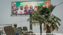 Nigeria - Wahlkampf (Getty Images/AFP/C. Aldehuela)