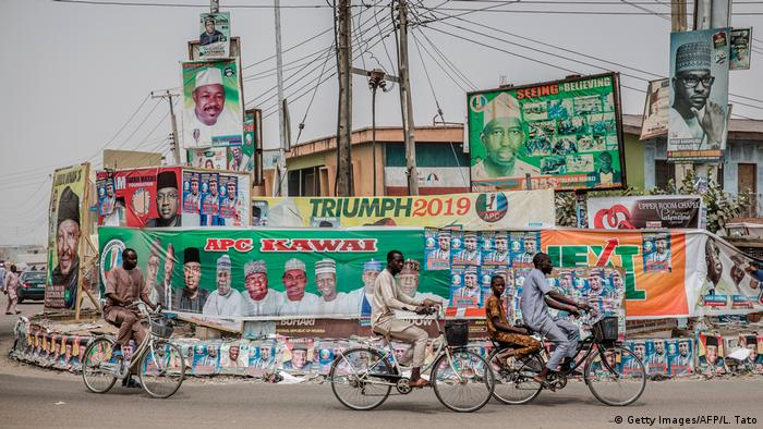 Nigeria - Wahlkampf (Getty Images/AFP/L. Tato)