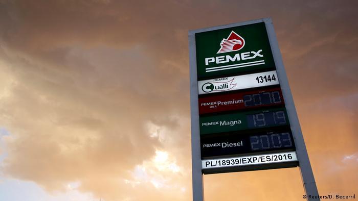 Mexiko - Hilfe für Ölkonzern PEMEX