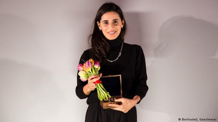 Berlinale - Gewinnerin des Compass-Perspektive-Award Maryam Zaree