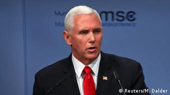 Munich Security Conference in Munich Mike Pence
