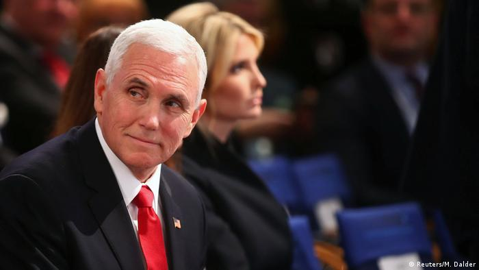 US Vice President Mike Pence attends the annual Munich Security Conference in Munich