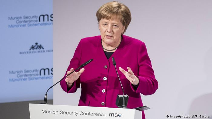 MSC München Angela Merkel