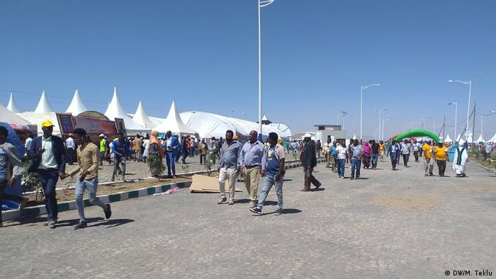 Jijiga - Feier zu 4th Ethiopian Cities Forum