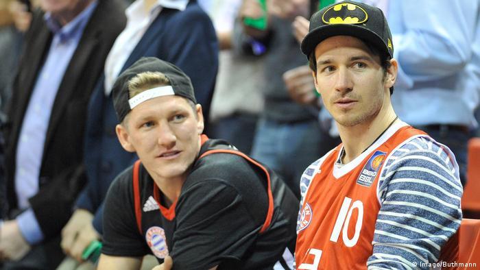 Bastian Schweinsteiger und Felix Neureuther (Imago/Buthmann)