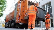 Symbolbild Beamten | Müllabfuhr