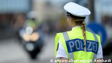 Symbolbild Beamten   Polizistin