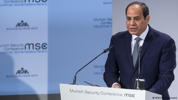55. Münchner Sicherheitskonferenz: Abdel Fatah al-Sisi