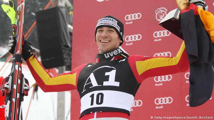 Ski Alpin Felix Neureuther Kitzbühel 2010 (Getty Images/Agence Zoom/A. Boichard)