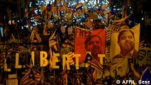 Spanien Barcelona Demonstration zum Prozess gegen Katalanische Separatistenführer