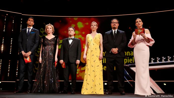 69. Berlinale Preisverleihung | Internationale Jury (Reuters/H. Hanschke)
