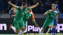 1. Bundesliga | Hertha BSC v SV Werder Bremen | Torjubel 1:1