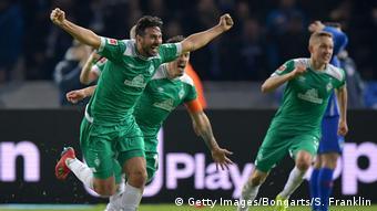 1. Bundesliga   Hertha BSC v SV Werder Bremen   Torjubel 1:1