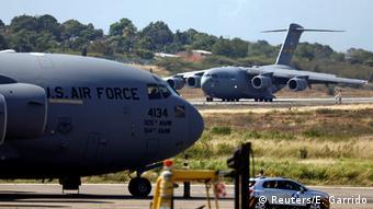 Kolumbien USA stellen 200 Tonnen Hilfsgüter für Venezuela bereit (Reuters/E. Garrido)
