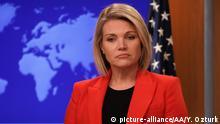 USA Heather Nauert zieht Bewerbung als UN-Botschafterin zurück