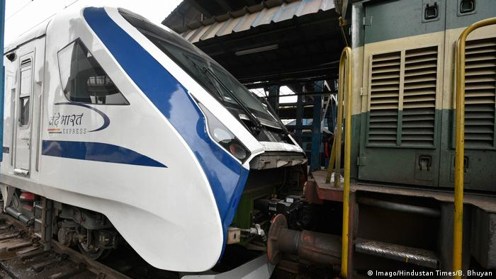 Indien New Delhi - Vande Bharat Express (Imago/Hindustan Times/B. Bhuyan)