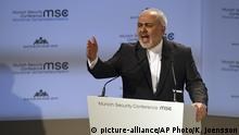 München MSC Javed Zarif (picture-alliance/AP Photo/K. Joensson)